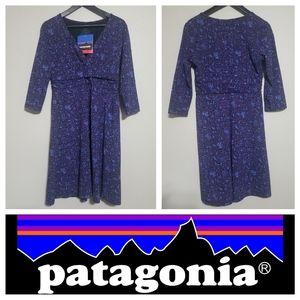 PATAGONIA Margot Dress Long Sleeve Slim Fit NWT